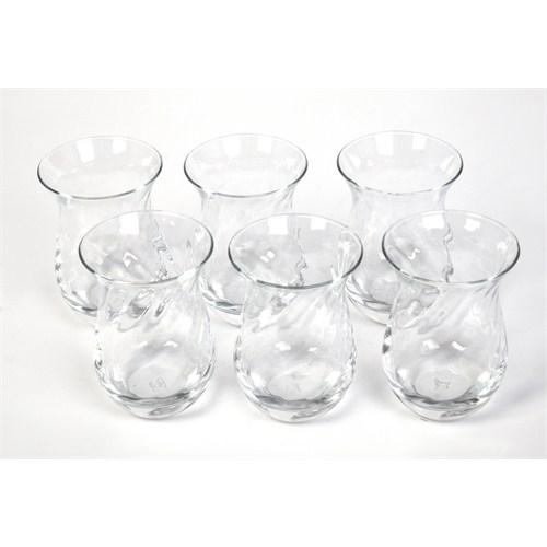 Paşabahçe Galata Optikli Çay Bardağı 6,Lı