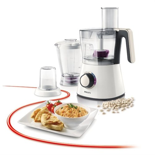Philips HR7761/00 Viva Collection Blender ve Öğütücü El Değirmeni ile Mutfak Robotu