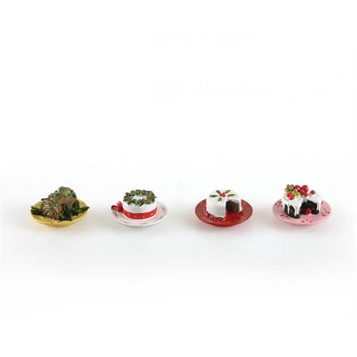 Kancaev Magnet Christmas Pasta 4'Lü Set