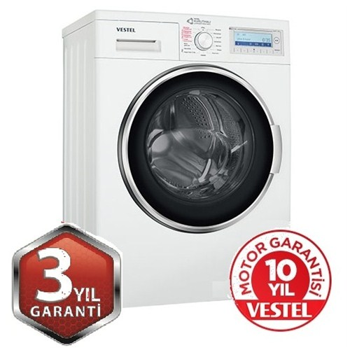 Vestel CKA-XXL 8514 TE A Enerji Sınıfı 8 Kg Yıkama 5 Kg Kurutma Kapasiteli 1400 Devir Çamaşır Makinesi