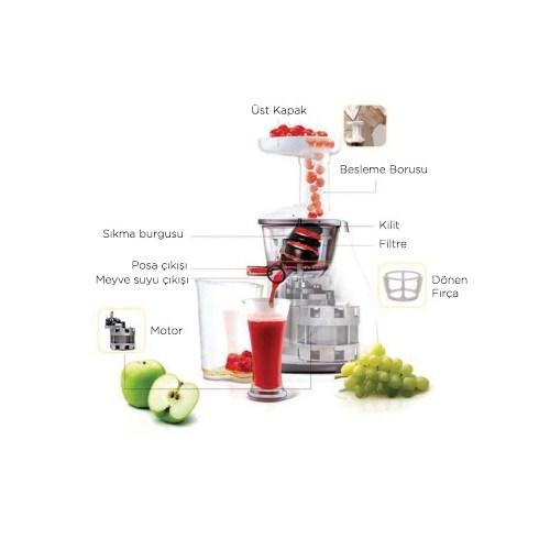 Fakir Slow Juicer Fiyat : Fakir Slow Juicer Meyve Presi Fiyatl - Taksit Secenekleri