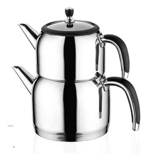 Emsan Halley Mini Çaydanlık Takımı Siyah
