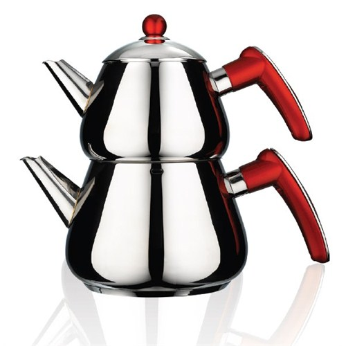 Emsan Bravo Çaydanlık - Kırmızı