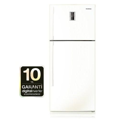 Samsung RT59QMSW1/XTR A+ 473 Lt Nofrost Çift Kapılı Buzdolabı