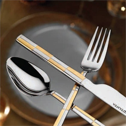Kütahya Porselen Gold Çatal Bıçak Takımı