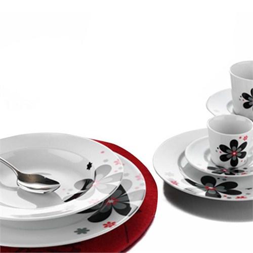 Kütahya Porselen Leonberg 24 Parça 6 Kişilik 4393 Dekor Yemek Takımı