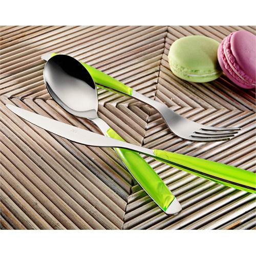 Kütahya Porselen 30 Parça Çatal Kaşık Bıçak Seti Fıstık Yeşili