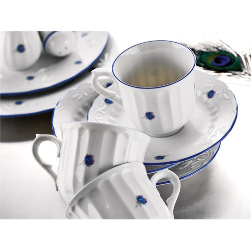 Kütahya Porselen Mina 6 Kişilik Kahve Takımı