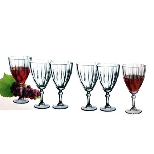 Paşabahçe Diamond Şarap Bardağı 6Lı