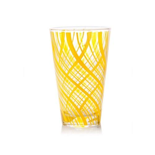 Biev 6Lı Meşrubat Bardağı Sarı