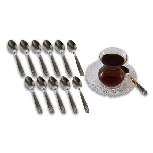 Özyılmaz 12'li Çay Kaşığı