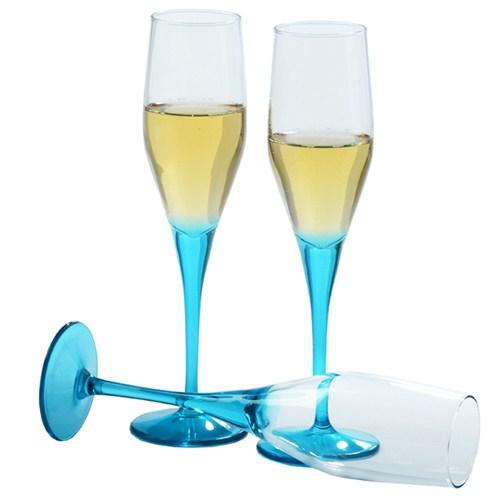 Paşabahçe Workshop 6 Lı Dream Şampanya Kadehi Mavi
