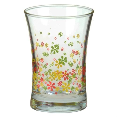 Paşabahçe Workshop Azur 3 Lü Su Bardağı Çiçek Desenli