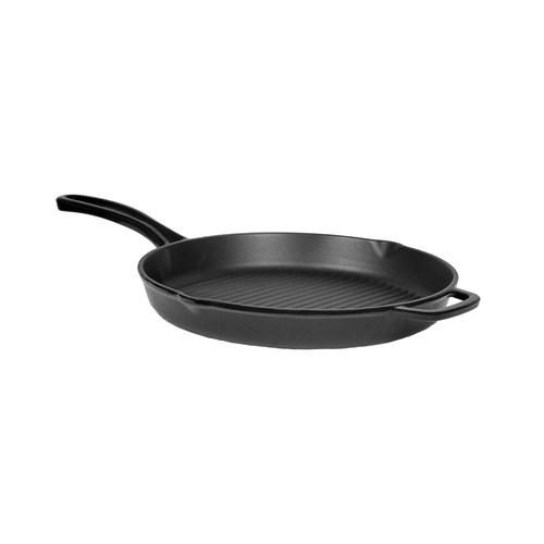 Hecha Grill Pan Round 28cm Tava Siyah