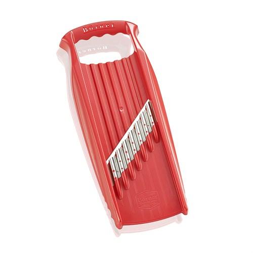 Börner - Waffel Xxl Powerline Dekoratif Rende, Kırmızı