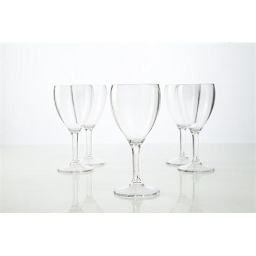 Plabar Kırılmaz Şarap Bardağı 6Lı