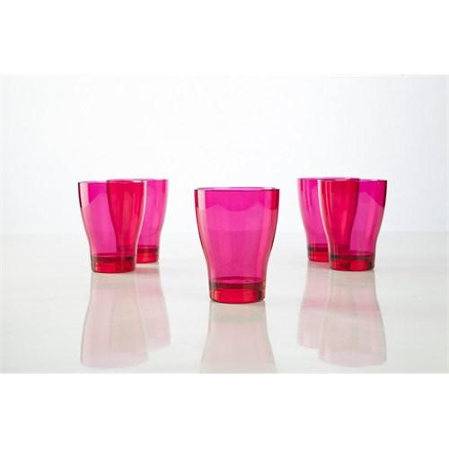 Plabar Kırılmaz Su Bardağı (Pembe) 12Li
