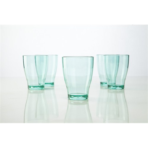 Plabar Kırılmaz Büyük Su Bardağı ( Yeşil) 6Lı