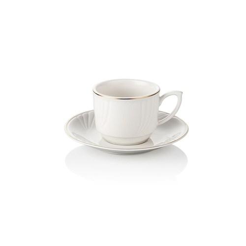 Noble Life Gold Kahve Fincan Seti 6 Kişilik - 15861