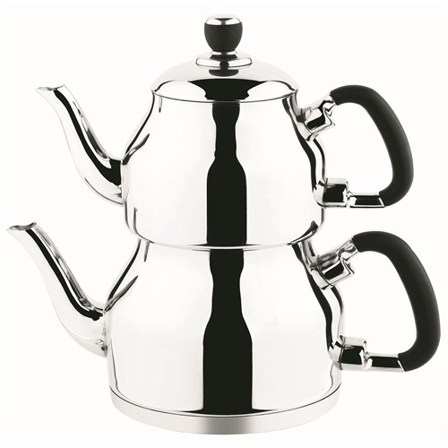 Özkent K-330 Symbol Mini Çaydanlık Siyah