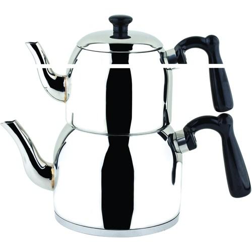 Özkent K-370 Menekşe Mini Çaydanlık Siyah