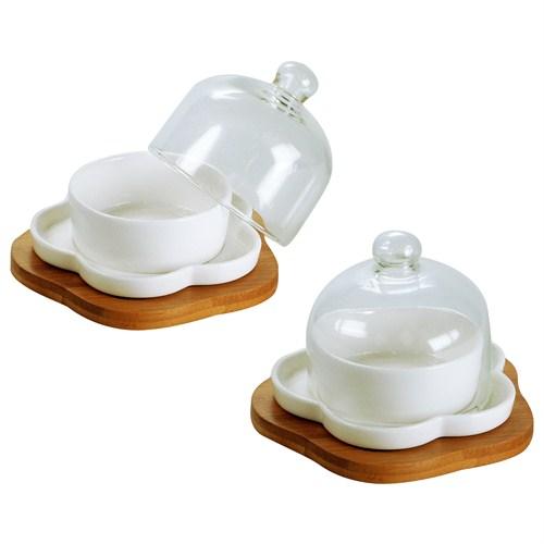 iHouse 5807 Seramik Lokumluk Beyaz