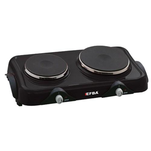 Efba 825 Hotplate 2500W 2 Gözü Elektrikli Ocak