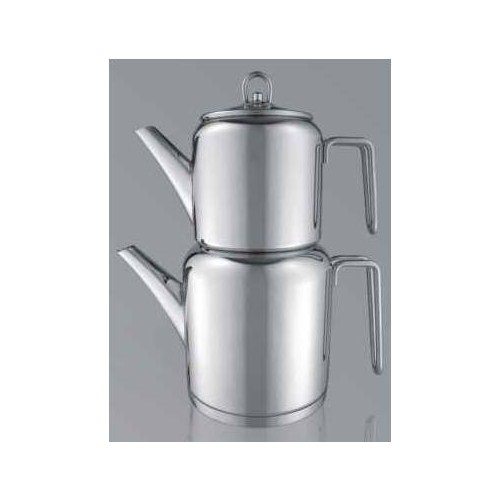 Aryıldız Roma Çelik Sap Büyük Çaydanlık Takım