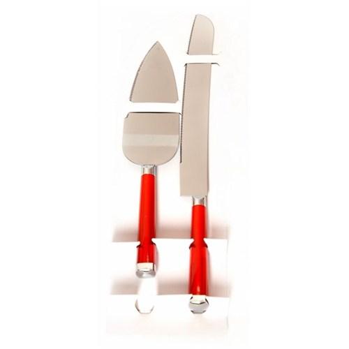 Kristal 2 Parça Kek Bıçak Seti-021