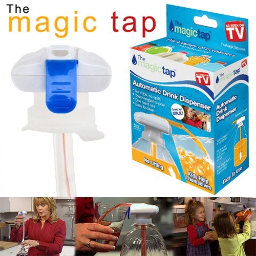 BlueZen Pilli Damacana Pompası Magic Tap (5Lt Şişe ve Petler İçin)