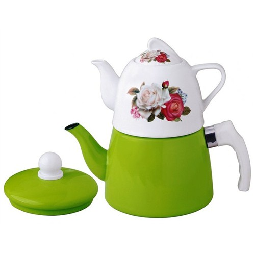 Remetta Rosa Emaye Çaydanlık Rd-143