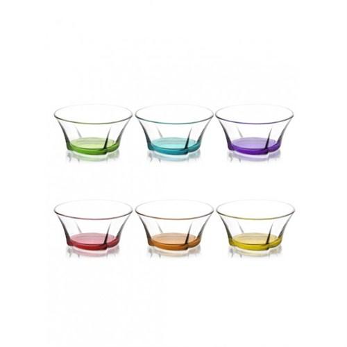 Lav Truva Cam Kase Renkli 6Lı