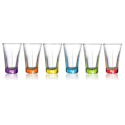 Lav Likör Bardağı Renkli 6Lı