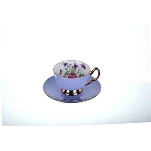 Lucky Art Soho Lila 6Lı Çay Fincan Seti