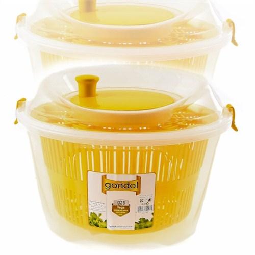 Atadan Vega Büyük Salata Kurutucu Sarı