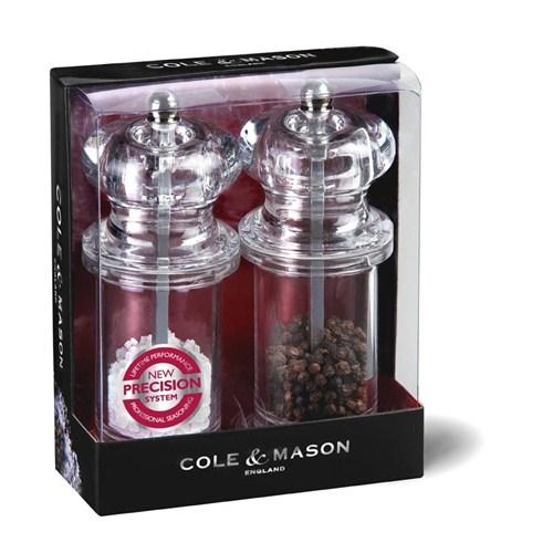 Cole & Mason H50518p 505 Precisi 140Mm Tuz&Biber Değirmeni Seti