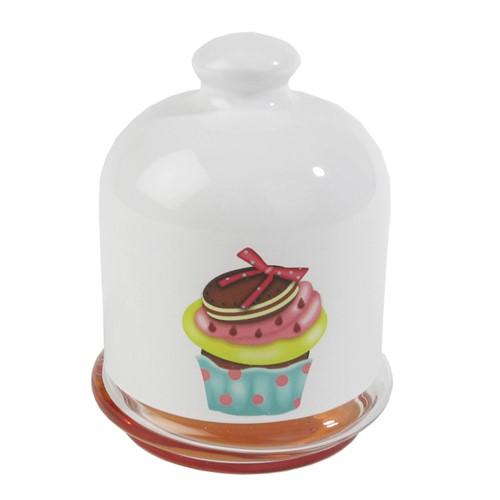 Joy Glass Reçellik Ballık Cup Cake Oranj