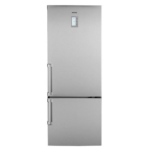 Vestel Akıllı NFK510 X A+ 510 Lt NoFrost Kombi Tipi Buzdolabı
