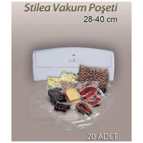 Stilea VS2140 28x40cm Vakum Poşeti (Stilea Vakum Makinesi İçin)