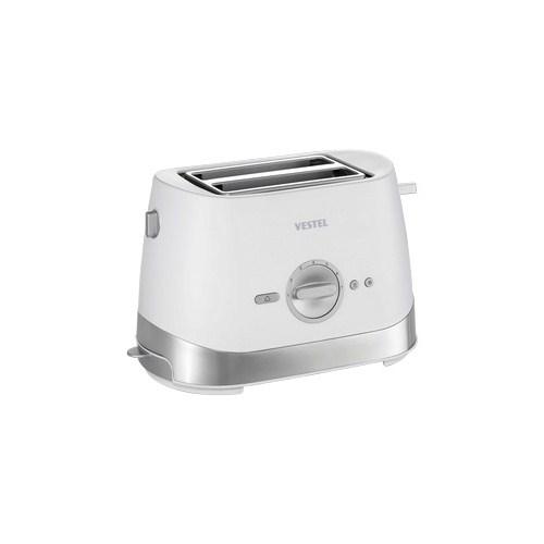 Vestel V-Brunch Serisi 2001 Ekmek Kızartma Makinesi - Beyaz