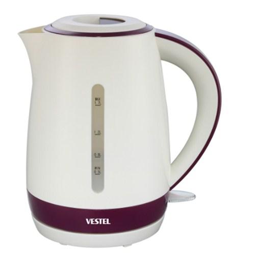 Vestel 1000Z 2200W 1.7 lt Paslanmaz Çelik Beyaz Su Isıtıcı