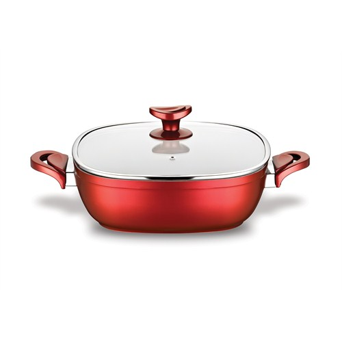 Schafer Gastronomie Karnıyarık 26 Cm Kırmızı