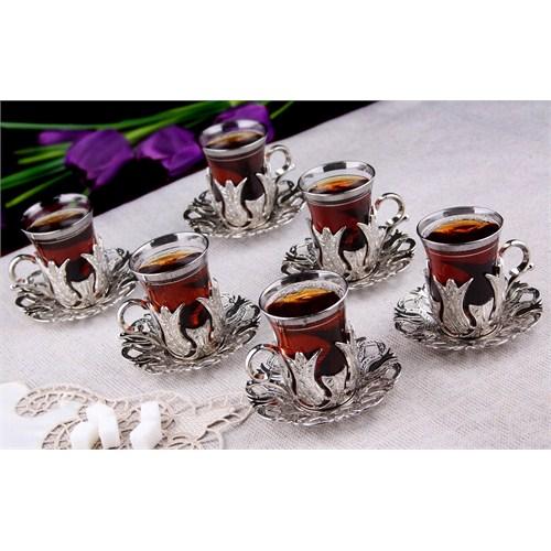 Sena Hanedan Çay Seti Nikel