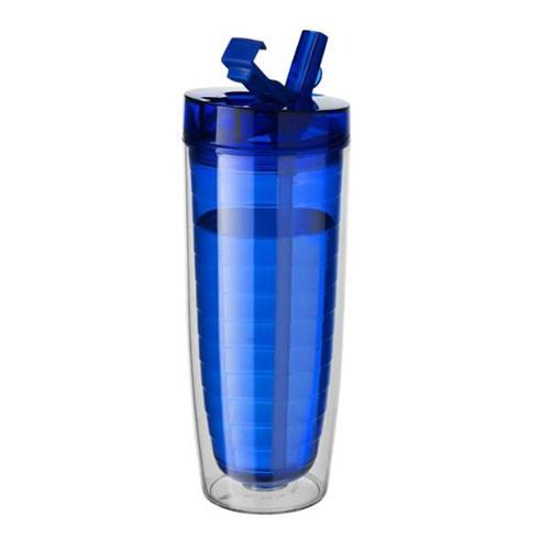 Pf Concept 10033401 Double Wall Mug Transparan Mavi