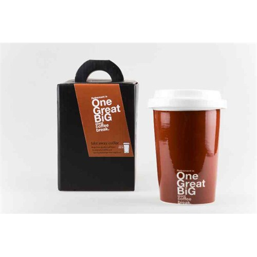Biggdesign Take Away Kahverengi Mug