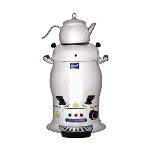 Remta Çift Demlikli Semaver Çay Makinası 5 Lt