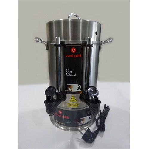 Vural Çay Makinası Otomatı 40 Bardak (5 Lt)