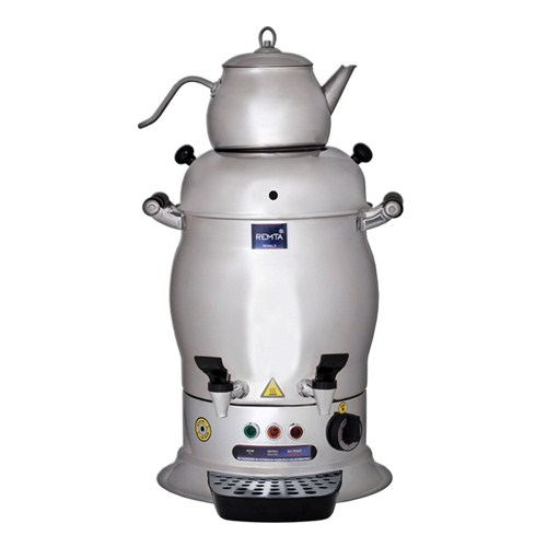 9 Lt Midi Çift Demlikli Çay Makinası Elegance Çay Otomatı