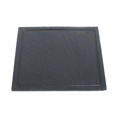 Mat For Home Kayrak Kare Tabak - Oluklu - 20X20