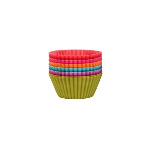 Tantitoni Silikon Renkli 12'Li Muffin Kalıbı
